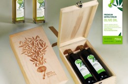 ennea wooden gift box